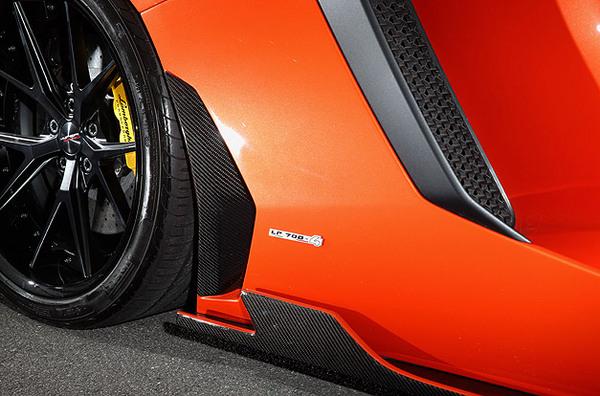 Aventador アヴェンタドール | サイドダクト/サイドパネル【リープデザイン】ランボルギーニ アヴェンタドール サイドダクトカバー カーボン