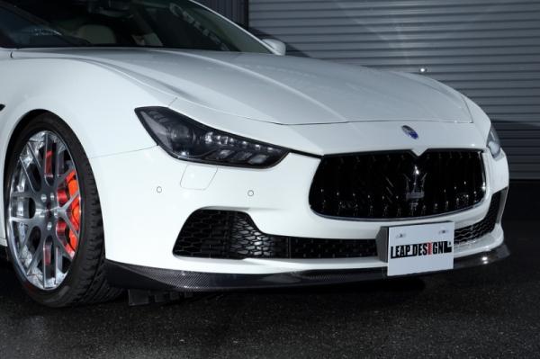 Maserati Ghibli | フロントハーフ【リープデザイン】マセラティ ギブリ フロント スポイラー カーボン
