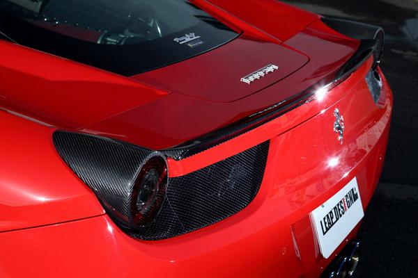 Ferrari 458 Italia | リアウイング / リアスポイラー【リープデザイン】フェラーリ 458イタリア リアスポイラー カーボン