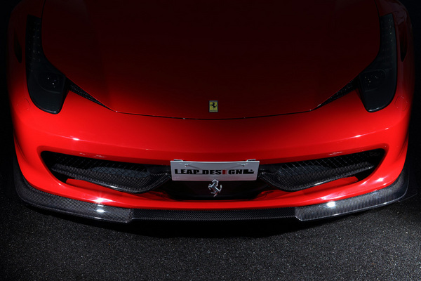 Ferrari 458 Italia | フロントアンダー / ディフューザー【リープデザイン】フェラーリ 458イタリア フロントスポイラー カーボン