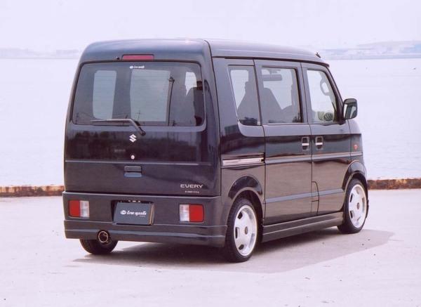 DA64V EVERY VAN | リアバンパーカバー / リアハーフ【ライブスポーツ】EVERY DA64V 1-3型 リアアンダー Ver.1