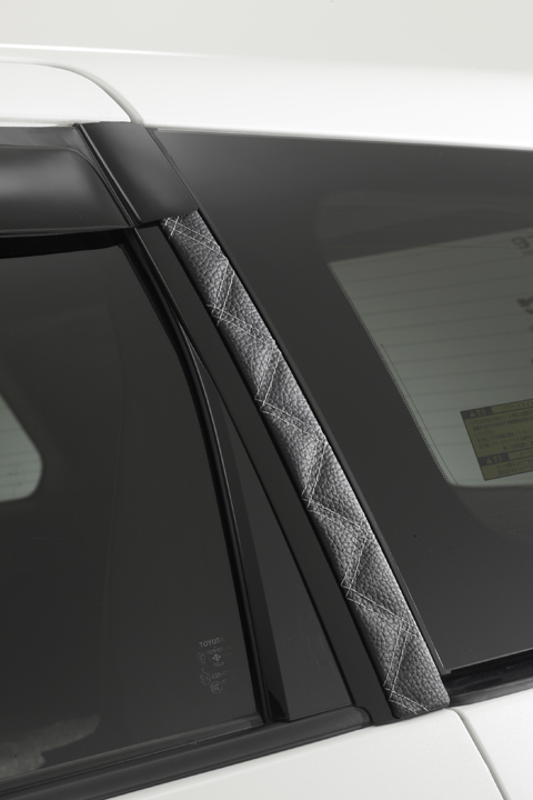 RF1/2 ステップワゴン | ピラー【エムアイシー】RF1/2 ステップワゴン ダイヤキルトレザーピラー 2P ピンク