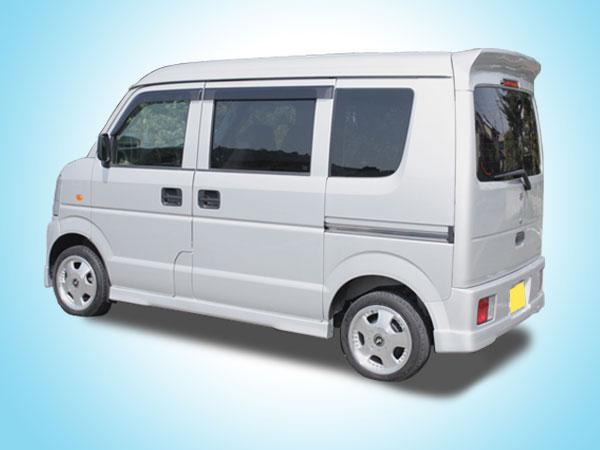 DA64V EVERY VAN | サイドステップ【ボンディ/Tパーツ】エブリイ バン DA64V VONDY サイドステップ