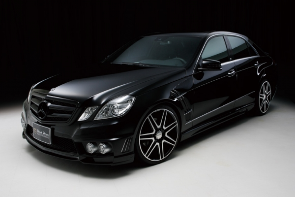 BENZ E W212 | スプリング【ヴァルド】【C】BENZ E W212 Sports Line Black Bision Edition 09y~ LOWERING KIT 350/550ワゴン、E63リアエアサス車用