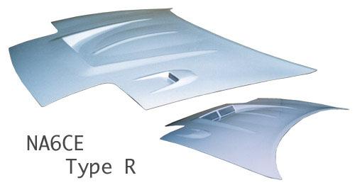 NA ロードスター | ボンネット ( フード )【スタウト】ロードスター NA6CE エアロボンネット TypeR FRP