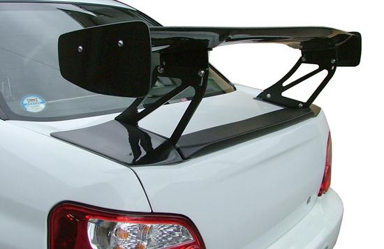 GD インプレッサ | GT-WING【スタウト】インプレッサ GDB GTウイング (1400mm) ウィング・ブラケットともに平織りカーボン Aステータイプ
