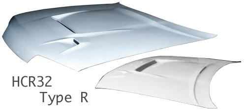 R32 スカイラインクーペ | ボンネット ( フード )【スタウト】HCR32 スカイライン クーペ TypeR ボンネット カーボン (平織/綾織別途オプション)