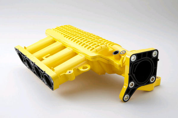 GE6-9 フィット | インテークチャンバー【スプーン】フィット RS GE8 前期 Intake Chamber Yellow