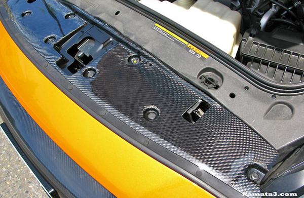 GT-R R35 | ラジエーター / クーリングパネル【ゼル パフォーマンス】GTR35 カーボン ラジエターシュラウド ウェットカーボン