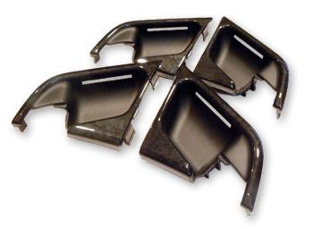 BENZ E W210 | 内装パーツ / その他【ゼットビーデザイン】BENZ E W210 ドアオープナーカバーSET 後期 (00y-) ウォールナット