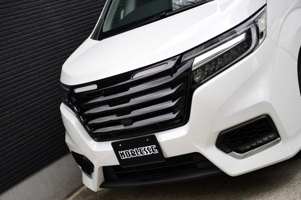 RP ステップワゴン | フロントグリル【ノブレッセ】ステップワゴン スパーダ RP 後期 フロントグリル ABS 未塗装