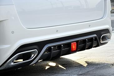 20 ヴェルファイア | リアバンパー【ニューズ】ヴェルファイア 20系 後期 Combat-line Rear Bumper Spoiler with Tail finisher