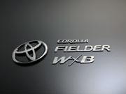 160 カローラフィールダー | オーナメント / エンブレム【グラージオ】カローラフィールダー 16系 後期(2015/3~) エンブレムリヤ5点SET W×B (G) ブラック オニキス