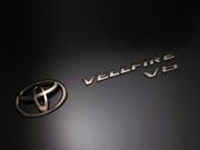 20 ヴェルファイア | オーナメント / エンブレム【グラージオ】ヴェルファイア BLACK Chrome Emblem 前後4点SET T仕様
