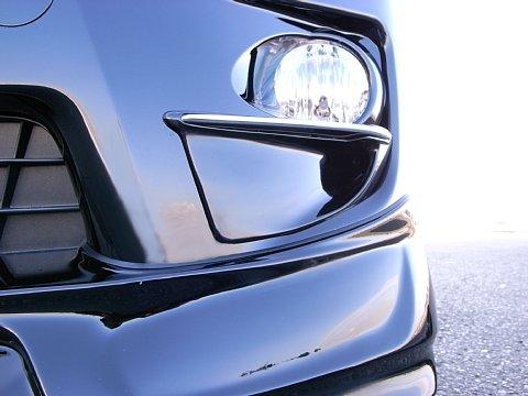 20 アルファード | レンズカバー【アクティブモータリングスタイル】ALPHARD-S 20系 前期 フォグランプガーニッシュ メーカー塗装済品