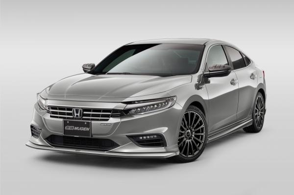 ZE4 インサイト | サイドステップ【ムゲン】インサイト ZE4 サイドガーニッシュ ABS 塗装済 ルナシルバーメタリック(NH830M)