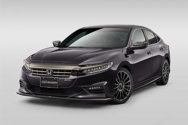 ZE4 インサイト | フロントグリル【ムゲン】インサイト ZE4 フロントグリルガーニッシュ ABS 塗装済 ルーセブラックメタリック(NH821M)