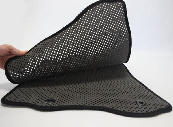 ジムニー フロアマット Autowear JB64 正規品 オートウェア カラー:ダークグレー JX 5:5分離 赤テープ モデル:ダブルマット スピード対応 全国送料無料