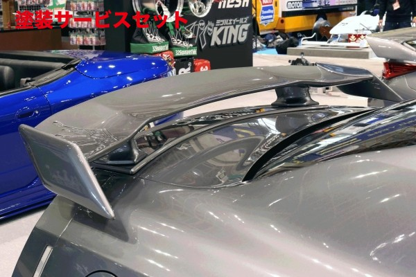★色番号塗装発送GT-R R35 | リアウイング / リアスポイラー【ミツルパワー】326 POWER 3D☆STAR NISSAN GT-R35 前期 リアウイング