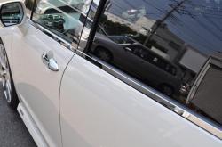 L150 ムーヴ | ドアモール【グロウ】ムーヴ L150/L160 ステンレスドアモール 4ピース 鏡面 シルバー(標準色)
