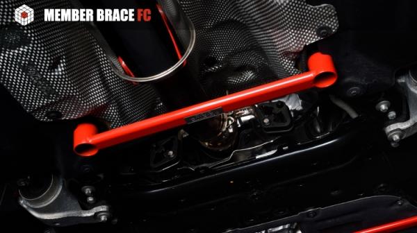 BMW Mini F56 | フロアサポート / メンバーサポート【ジオミック】BMW MINI F54/55/56/57 メンバーブレース・FC