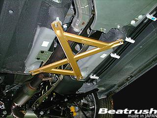 NC ロードスター | フロアサポート / メンバーサポート【レイル / ビートラッシュ】Beatrush MAZDA ROADSTER [ NCEC ] 05.9~ FLOOR PERFORMANCE BAR