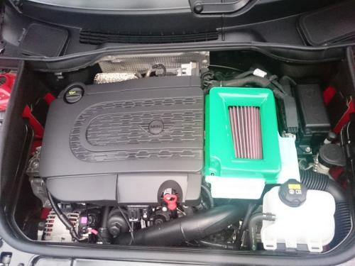 エアクリーナーBOX / ダクト【ガルビノ】BMW MINI F54 クーパーS/JCW アムゼックス エアクリーナーボックス