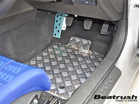 BRZ | フロアマット【レイル / ビートラッシュ】BRZ ZC6 アルミフロアーパネル 運転席側+助手席側 セット