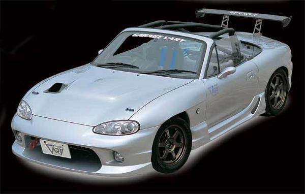 NB ロードスター | フロントバンパー【ガレージベリー】ロードスター NB 後期 フロントバンパースポイラー Type-1 FRP製