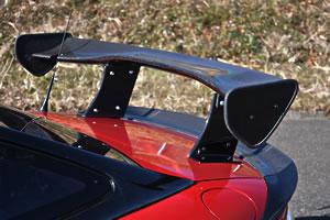 <title>NC ROADSTAR GT-WING GARAGE VARY ロードスター ガレージベリー NCEC 2008 12- 完全送料無料 ウイング FRP+翼端板のみカーボン製 3Dウイング 1320mmメイン板</title>