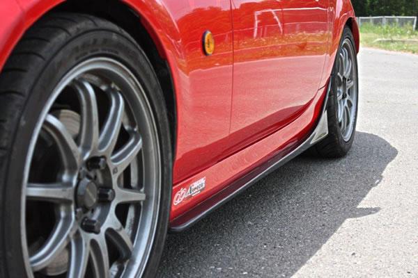 サイドステップ【ガレージベリー】ロードスター ロードスター NC サイドステップ 2008/12- | FRP製 NCEC