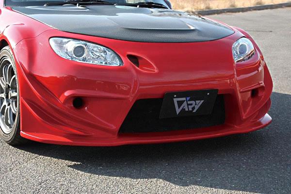 NC ロードスター | フロントバンパー【ガレージベリー】ロードスター NCEC 2008/12- フロントバンパースポイラー T-S インテークダクト付 FRP製