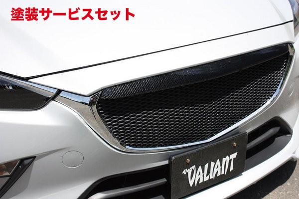 ★色番号塗装発送CX-3   フロントグリル【ガレージベリー】CX-3 DK5FW/DK5AW DK フロントグリル(網付) カーボン製