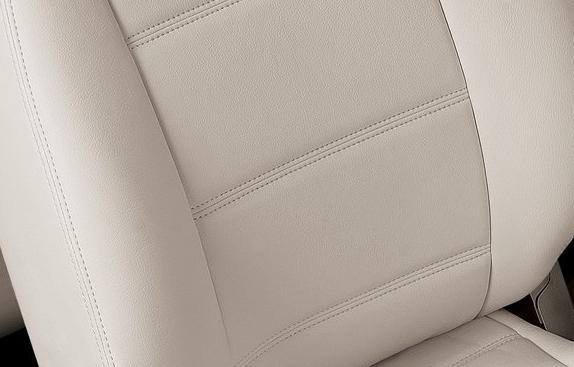 ザ・ビートル | シートカバー【オートウェア】ザ・ ビートル デザイン シートカバー ポイント カラー:ホワイト レザー車/ファブリック車
