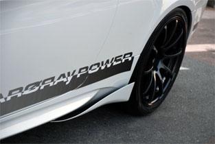 BMW 3 Series COUPE E92 | サイドステップ【アーキュレー】BMW E92 3series COUPE サイドウイング カーボン