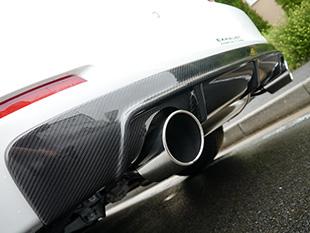 BMW 3 Series F30/F31/F34 | リアアンダー / ディフューザー【アーキュレー】BMW 3 series F30/31 320i/328i SEDAN & TOURING リアディフューザー DUAL Tail FRP Type