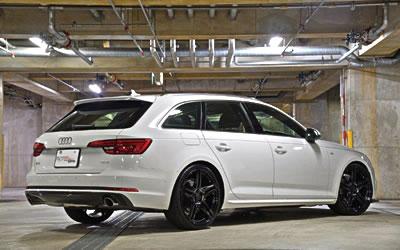 Audi A4 | リアアンダー / ディフューザー【ガレージベリー】AUDI A4 AVANT 8W S-LINE リアディフューFRP製