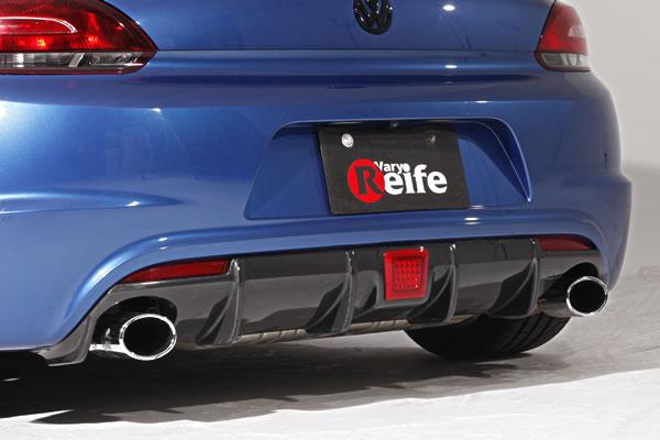 Scirocco リアアンダー 初売り ディフューザー GARAGE VARY リアディフューザー 1着でも送料無料 ガレージベリー R VW FRP製
