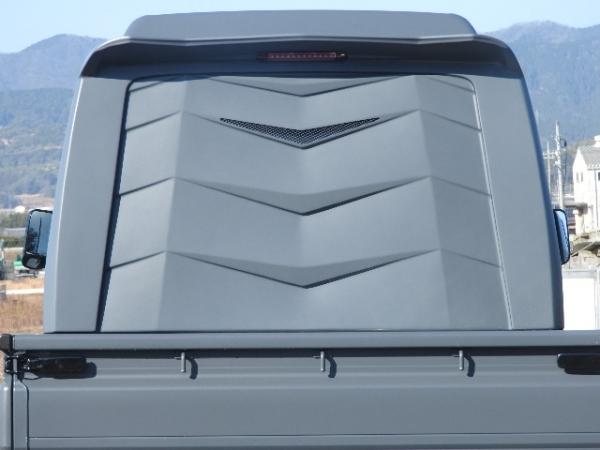 S500/510P ハイゼットトラック | リアゲートパネル / (スムージング)【ショウプロデュース】ハイゼットトラック 500/510P 3Dリアバックパネル