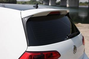 フォルクスワーゲン ゴルフ 7 VW GOLF VII | ルーフスポイラー / ハッチスポイラー【ガレージベリー】VW GOLF 7 TSI コンビネーションルーフスポイラー (リアウインドウサイドスポイラー カーボン製)