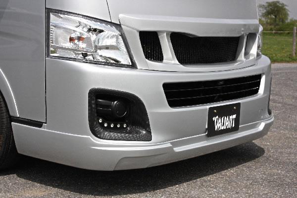 E26 NV350 キャラバン ワイドボディ   フロントリップ【ガレージベリー】NV350キャラバン E26 ワイドボディ フロントリップスポイラー ウレタン製