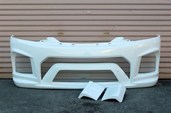E26 NV350 キャラバン CARAVAN   フロントバンパー【ガレージベリー】MV350 キャラバン E26 フロントバンパー 未塗装品