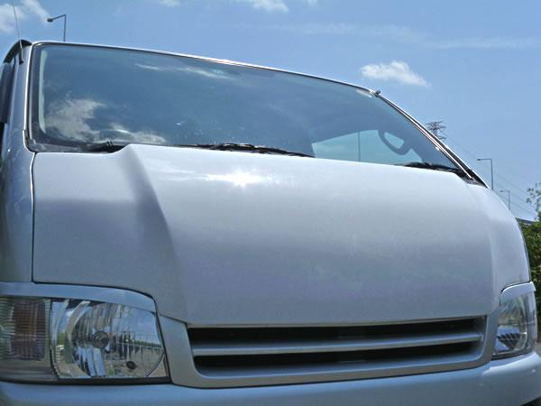 HIACE ボンネットフード GARAGE 贈り物 VARY 200 ハイエース 標準ボディ 200系 1 2 激安 3型 GROWNボンネット ガレージベリー カーボン製