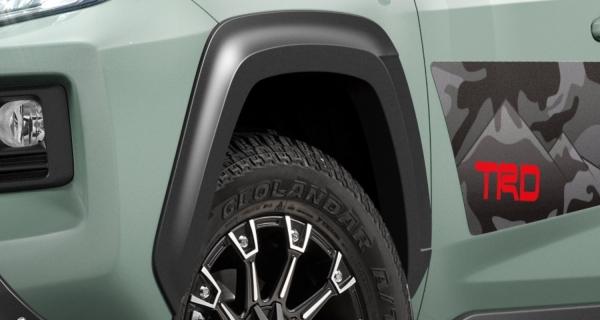 【★送料無料】 RAV4 XA50 | オーバーフェンダー / トリム【ティーアールディー】新型RAV4 XA50系 ADVENTURE オーバーフェンダー