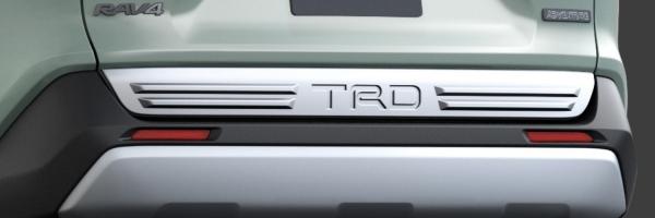【★送料無料】 RAV4 XA50   リアガーニッシュ / リアグリル【ティーアールディー】新型RAV4 XA50系 バックドアロアガーニッシュ