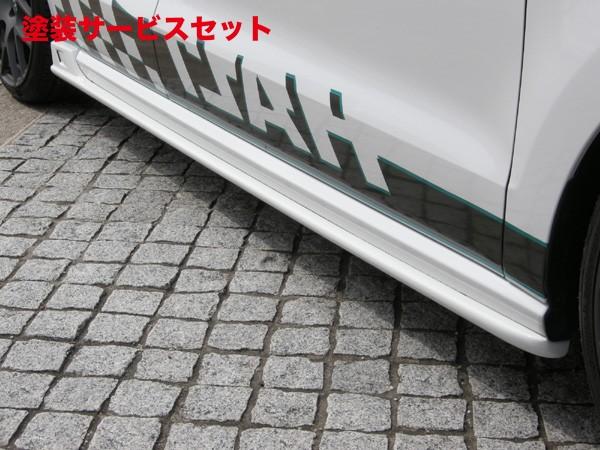 ★色番号塗装発送VW POLO 6R/6C   サイドステップ【ハルトデザイン】POLO 6R Side Step FRP製