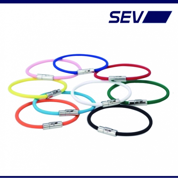 汎用 | その他【セブ】【SEV セブ 健康・スポーツ製品】セブ ルーパーブレスレット 21cm イエロー