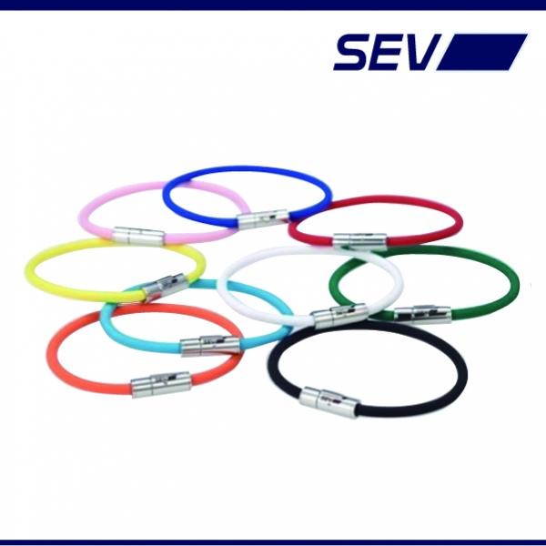汎用 | その他【セブ】【SEV セブ 健康・スポーツ製品】セブ ルーパーブレスレット 19cm ライトブルー