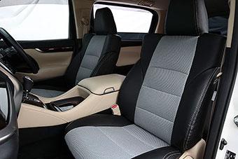 カムリ XV70系   シートカバー【オートウェア】カムリ 70系 シートカバー プレミアムメッシュ カラー:ブラック + メッシグレー