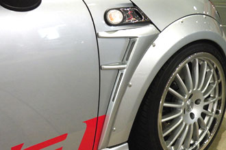 BMW Mini R55/56   エアロ その他 / (塗装必要品)【ハルトデザイン】BMW Mini R55/56 サイドパネル カーボン